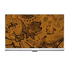 Art Traditional Batik Flower Pattern Business Card Holders by BangZart