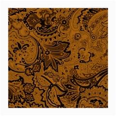 Art Traditional Batik Flower Pattern Medium Glasses Cloth (2 Side)
