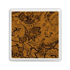 Art Traditional Batik Flower Pattern Memory Card Reader (square)