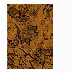 Art Traditional Batik Flower Pattern Large Garden Flag (two Sides) by BangZart