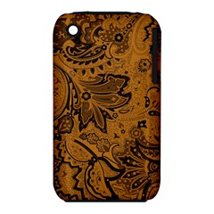 Art Traditional Batik Flower Pattern Iphone 3s/3gs by BangZart