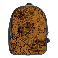 Art Traditional Batik Flower Pattern School Bags (xl)  by BangZart
