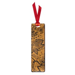 Art Traditional Batik Flower Pattern Small Book Marks