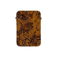 Art Traditional Batik Flower Pattern Apple Ipad Mini Protective Soft Cases