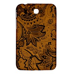 Art Traditional Batik Flower Pattern Samsung Galaxy Tab 3 (7 ) P3200 Hardshell Case  by BangZart