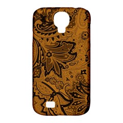 Art Traditional Batik Flower Pattern Samsung Galaxy S4 Classic Hardshell Case (pc+silicone)