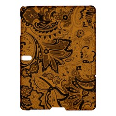 Art Traditional Batik Flower Pattern Samsung Galaxy Tab S (10 5 ) Hardshell Case  by BangZart