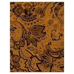 Art Traditional Batik Flower Pattern Drawstring Bag (large) by BangZart