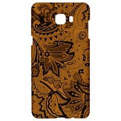 Art Traditional Batik Flower Pattern Samsung C9 Pro Hardshell Case  by BangZart