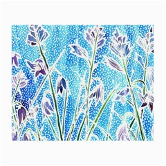 Art Batik Flowers Pattern Small Glasses Cloth by BangZart