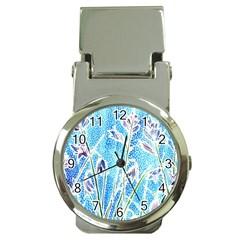 Art Batik Flowers Pattern Money Clip Watches by BangZart