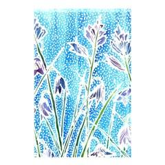 Art Batik Flowers Pattern Shower Curtain 48  X 72  (small)  by BangZart