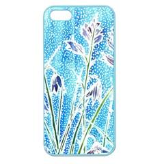 Art Batik Flowers Pattern Apple Seamless Iphone 5 Case (color)
