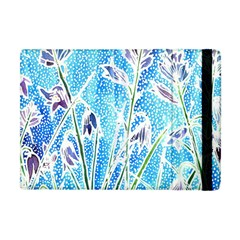 Art Batik Flowers Pattern Apple Ipad Mini Flip Case by BangZart