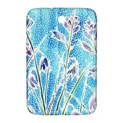 Art Batik Flowers Pattern Samsung Galaxy Note 8 0 N5100 Hardshell Case  by BangZart
