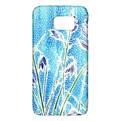 Art Batik Flowers Pattern Galaxy S6 by BangZart