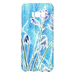 Art Batik Flowers Pattern Samsung Galaxy S8 Plus Hardshell Case