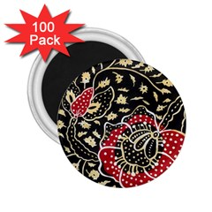 Art Batik Pattern 2 25  Magnets (100 Pack)  by BangZart