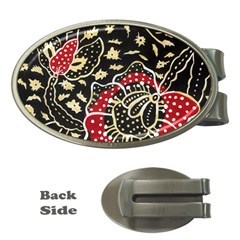 Art Batik Pattern Money Clips (oval)  by BangZart