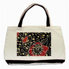 Art Batik Pattern Basic Tote Bag by BangZart