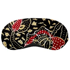 Art Batik Pattern Sleeping Masks