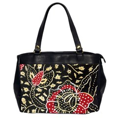 Art Batik Pattern Office Handbags (2 Sides)  by BangZart