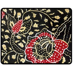 Art Batik Pattern Fleece Blanket (medium)