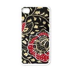 Art Batik Pattern Apple Iphone 4 Case (white) by BangZart