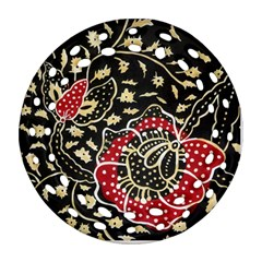 Art Batik Pattern Ornament (round Filigree) by BangZart