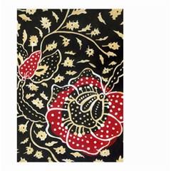 Art Batik Pattern Small Garden Flag (two Sides) by BangZart