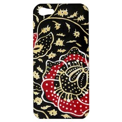 Art Batik Pattern Apple Iphone 5 Hardshell Case by BangZart