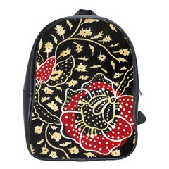 Art Batik Pattern School Bags (xl)  by BangZart