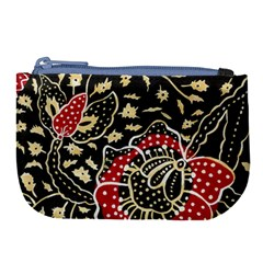 Art Batik Pattern Large Coin Purse by BangZart