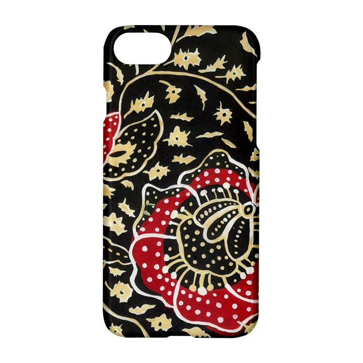 Art Batik Pattern Apple iPhone 7 Hardshell Case