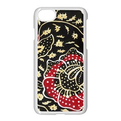 Art Batik Pattern Apple Iphone 7 Seamless Case (white)