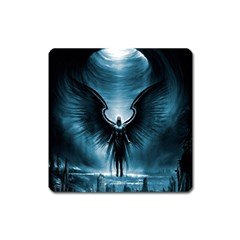 Rising Angel Fantasy Square Magnet by BangZart