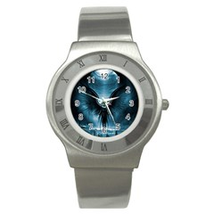 Rising Angel Fantasy Stainless Steel Watch by BangZart