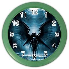 Rising Angel Fantasy Color Wall Clocks by BangZart