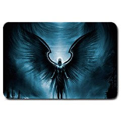 Rising Angel Fantasy Large Doormat  by BangZart