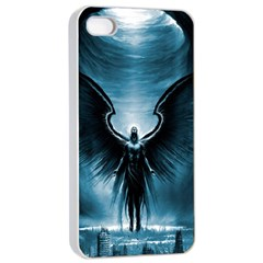 Rising Angel Fantasy Apple Iphone 4/4s Seamless Case (white) by BangZart