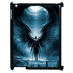 Rising Angel Fantasy Apple Ipad 2 Case (black) by BangZart
