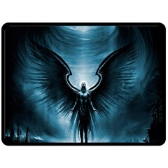 Rising Angel Fantasy Double Sided Fleece Blanket (large)  by BangZart