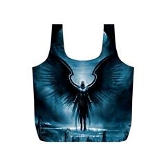 Rising Angel Fantasy Full Print Recycle Bags (s)  by BangZart