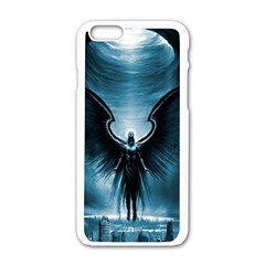 Rising Angel Fantasy Apple Iphone 6/6s White Enamel Case by BangZart