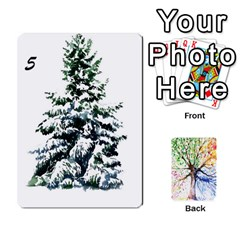 Arboretum Back2 Decka Alternate X2 By Fccdad   Playing Cards 54 Designs   Y8mf5vqxbmzb   Www Artscow Com Front - Spade6
