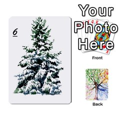 Arboretum Back2 Decka Alternate X2 By Fccdad   Playing Cards 54 Designs   Y8mf5vqxbmzb   Www Artscow Com Front - Spade7