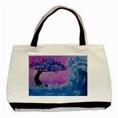 Rising To Touch You Basic Tote Bag (two Sides) by Dimkad