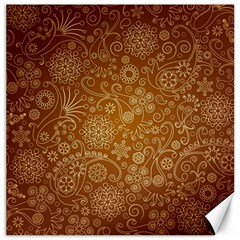 Batik Art Pattern Canvas 16  X 16   by BangZart