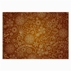 Batik Art Pattern Large Glasses Cloth by BangZart