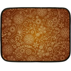 Batik Art Pattern Fleece Blanket (mini) by BangZart